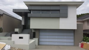 Mirage Honeycomb Garage Door